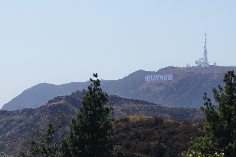 The Hollywood Sign from Griffith Observatory