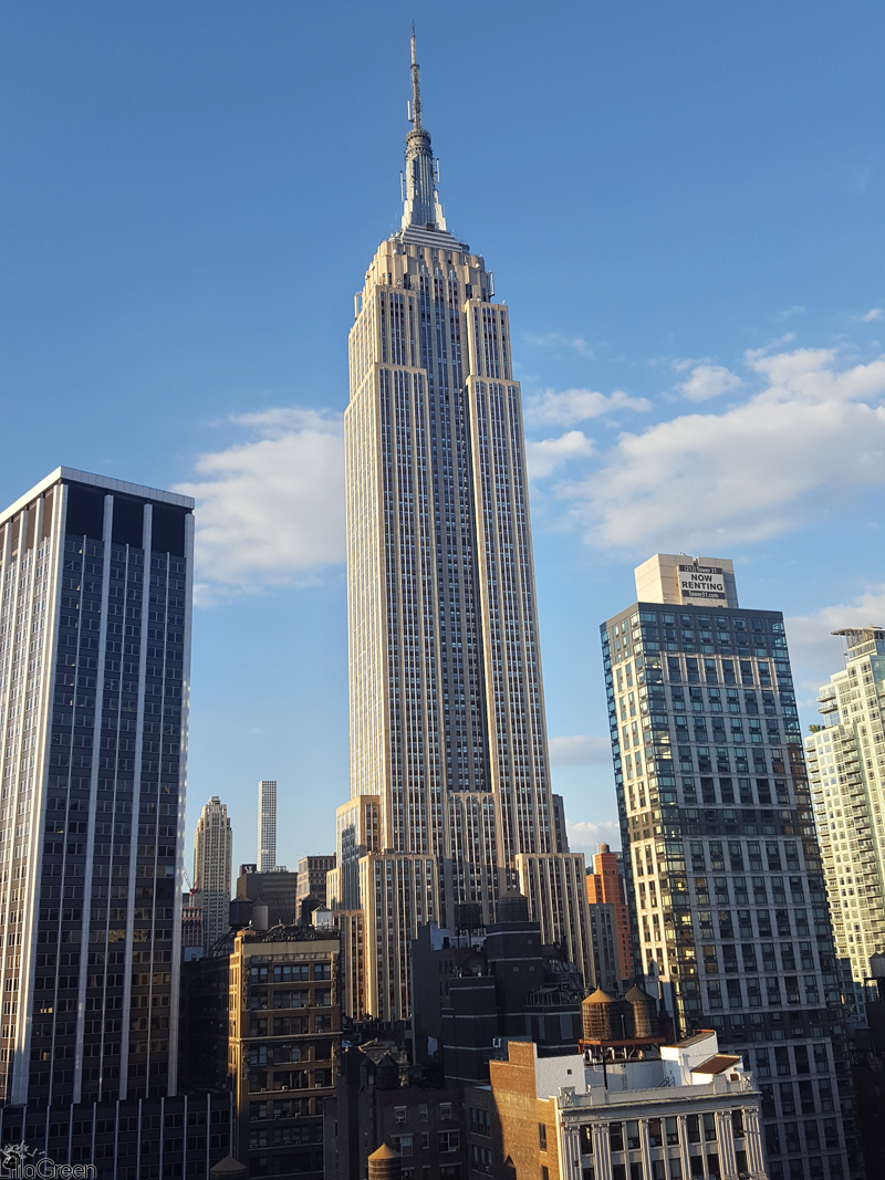 """The Paul Hotel"", Manhattan Skyline, Empire State Building"