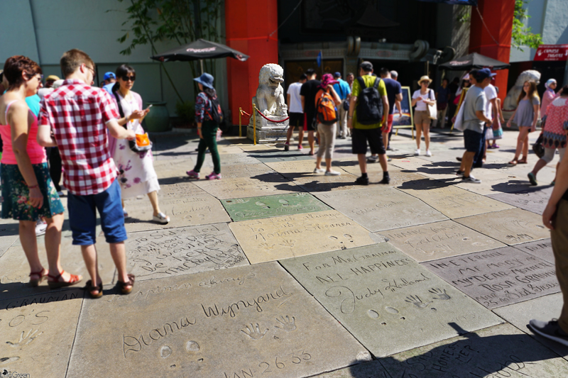 TCL Chinese Theatre, Walk of Fame, Hollywood