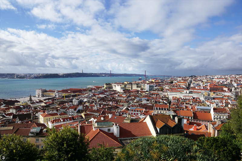 View from Castelo de S. Jorge, Lisbon
