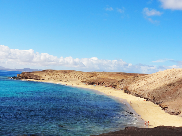 Playa de Papagayo, Lanzarote, Canary Islands