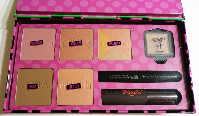 "LillaGreen |Benefit Cosmetics ""REAL Cheeky Party Blush Palette"""