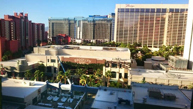 View from THE LINQ Hotel, Las Vegas