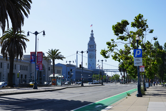 The Embarcadero Street, San Francisco