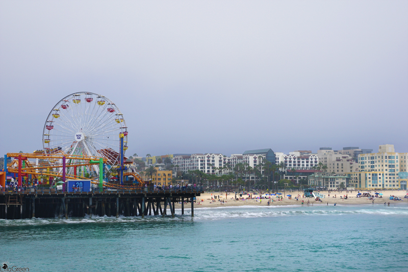 Santa Monica Pier, Venice Beach, Los Angeles