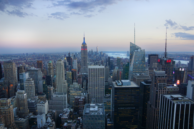 Top of The Rock ~ NYC