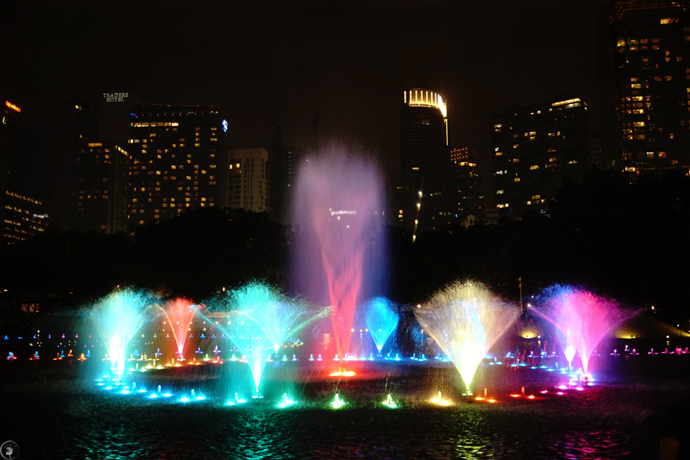 Dancing Fountains KLCC Park KL