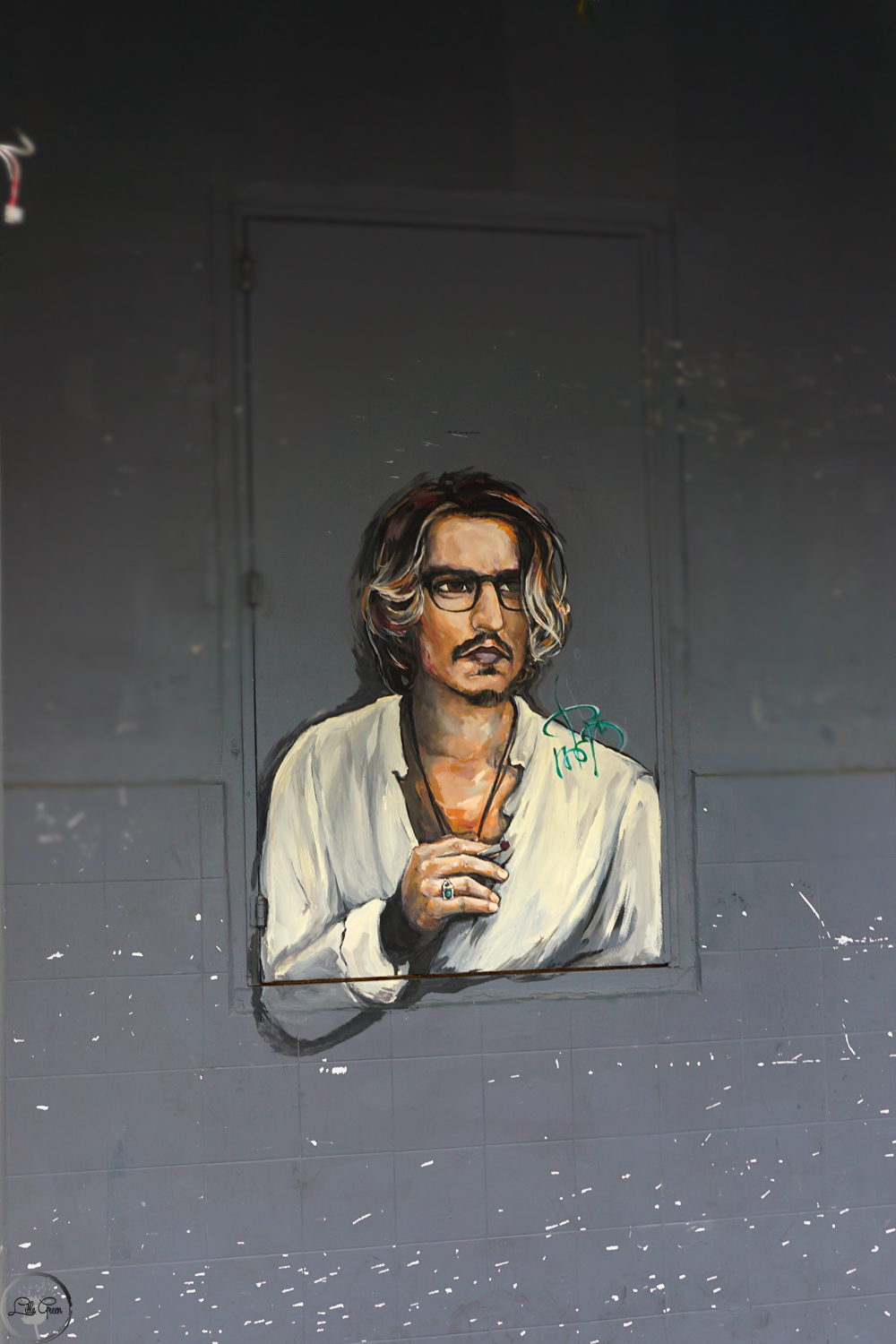 Johnny Depp Penang, Street Art