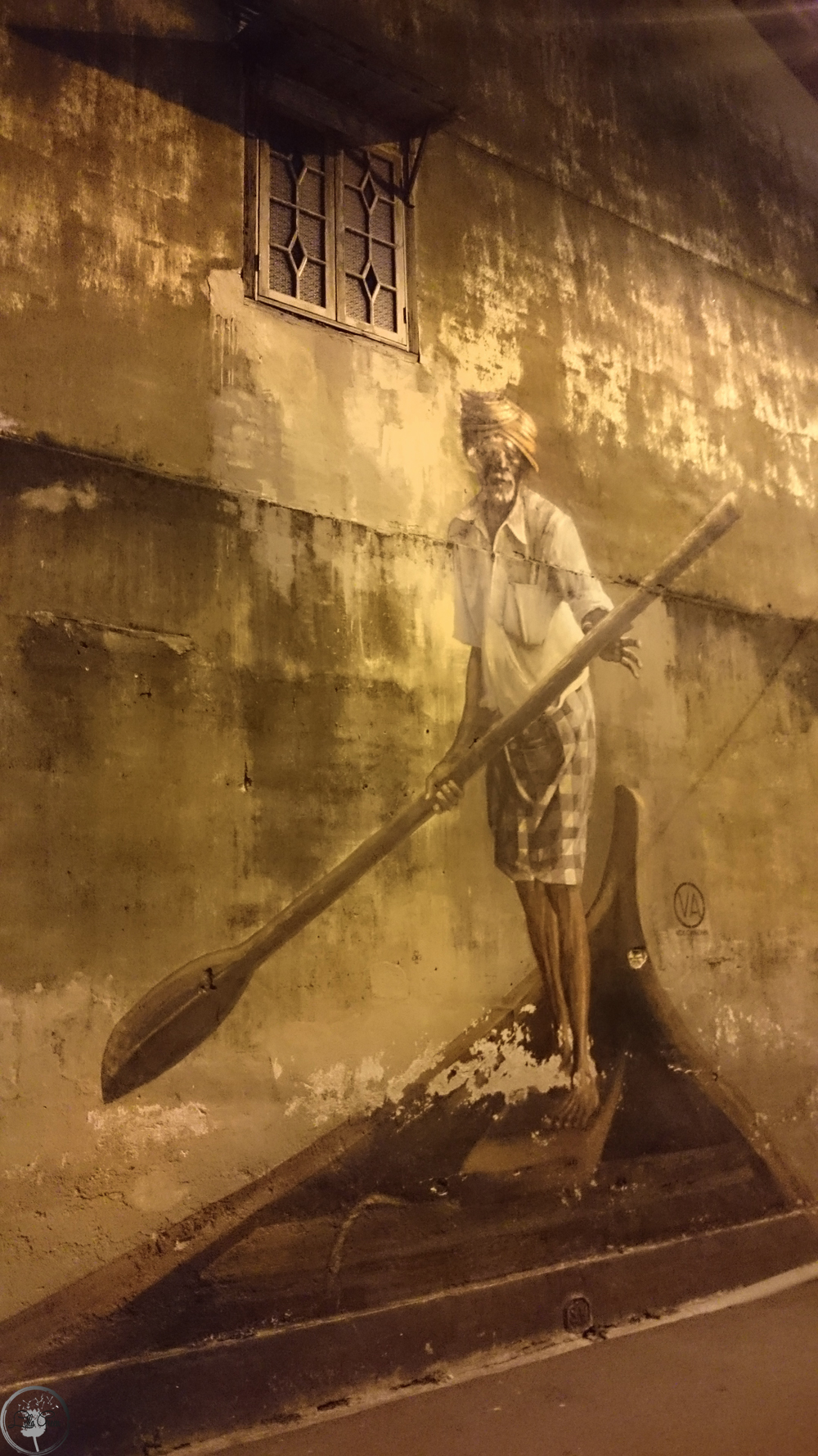 The Boat Man, Street Art Penang