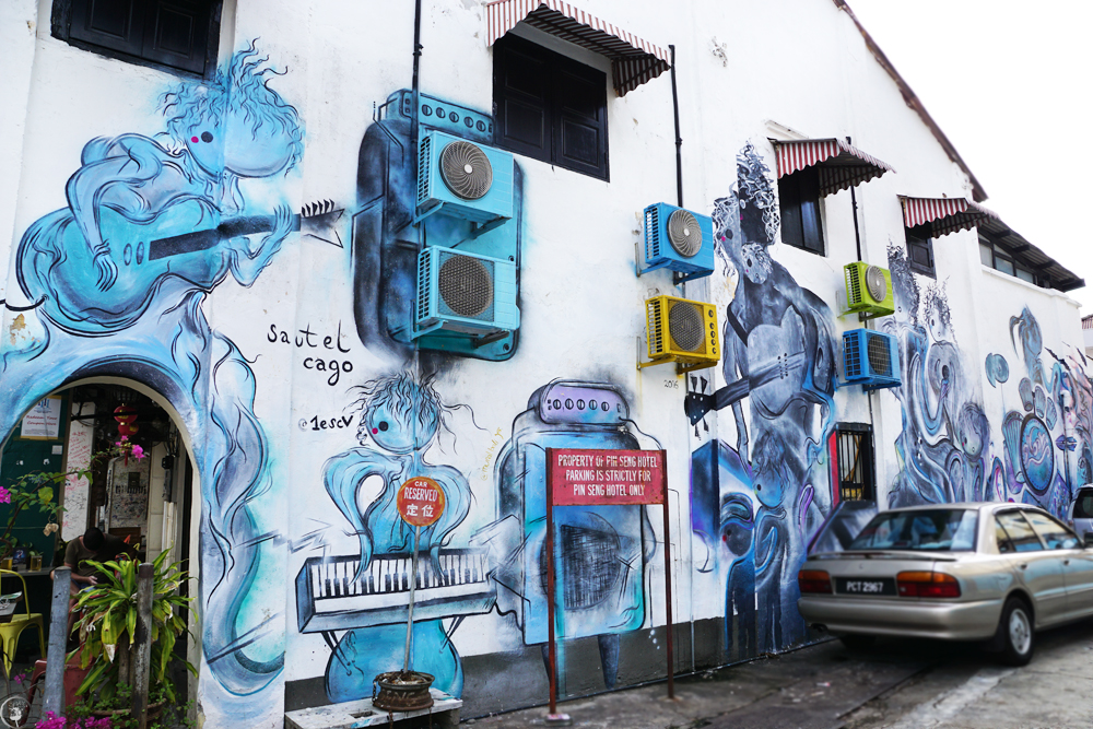 The Musicians, Penang, Street Art