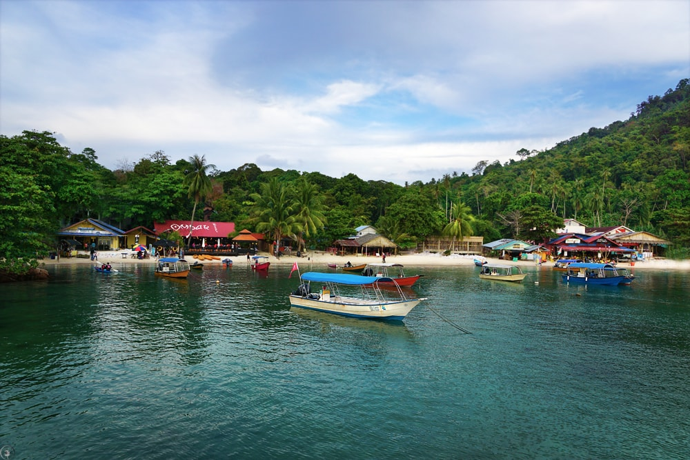 Coral Beach, Perhentian Islands