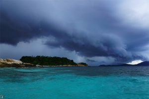 Snorkelling trip to Baby Islands, before the Thunderstorm