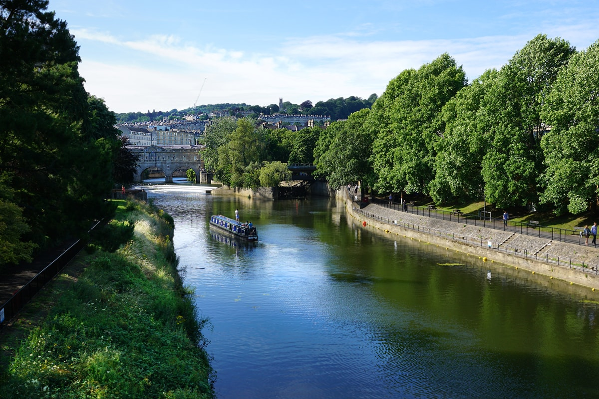Avon River, Pulteney Bridge, Bath