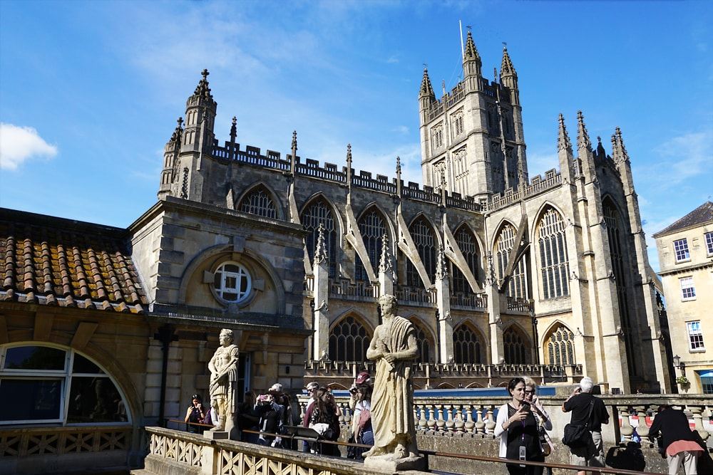 Bath Abbey View