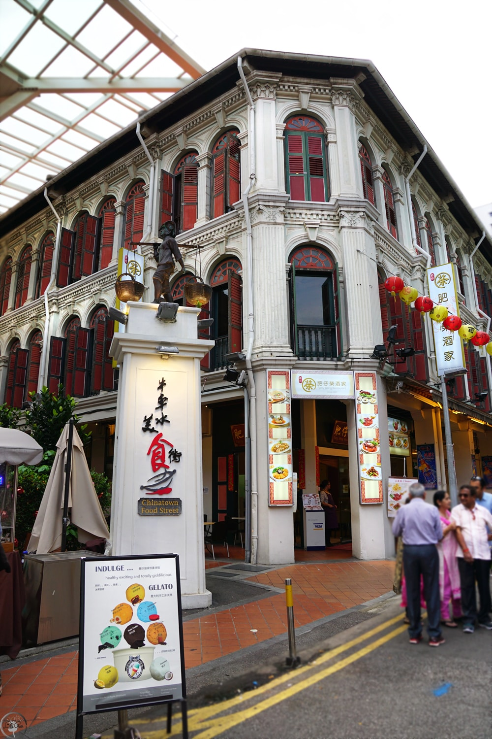 Chinatown Heritage Centre, Food Street, Singapore