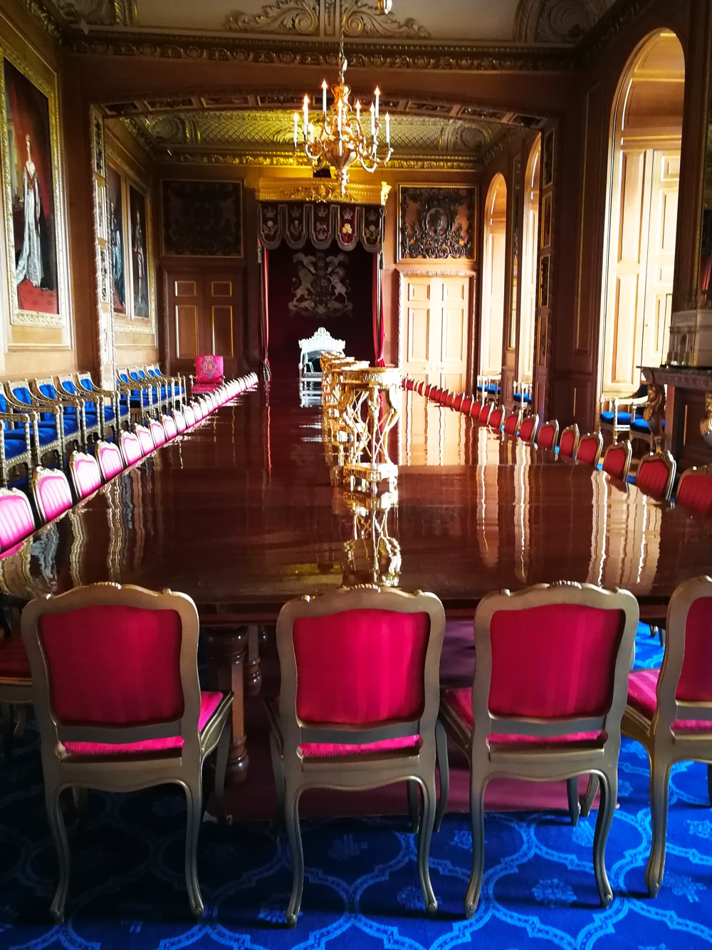 Dining Room of Windsor Castle