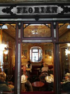 Florian, the oldest Coffee House in Venice