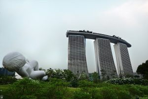 Giant Baby, Gardens by the Bay