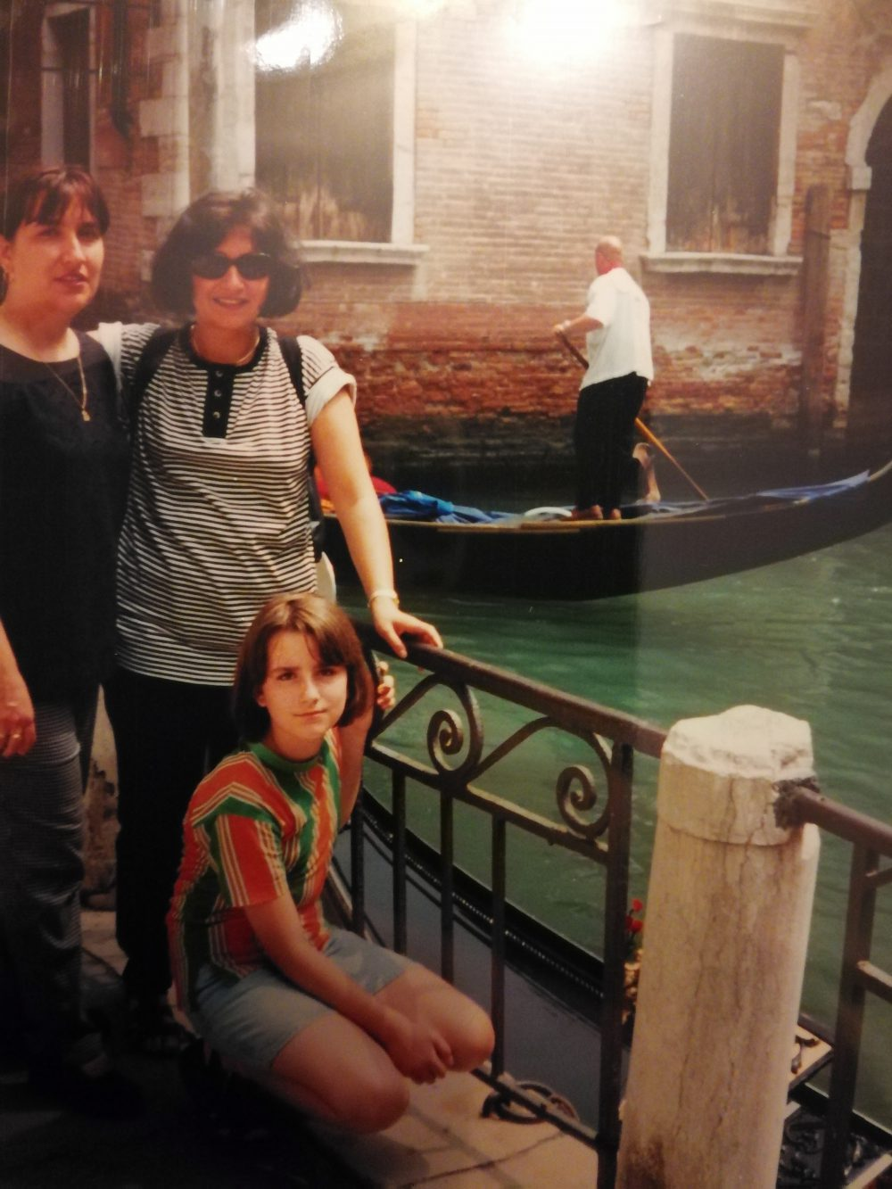My first visit to Venice, 1997