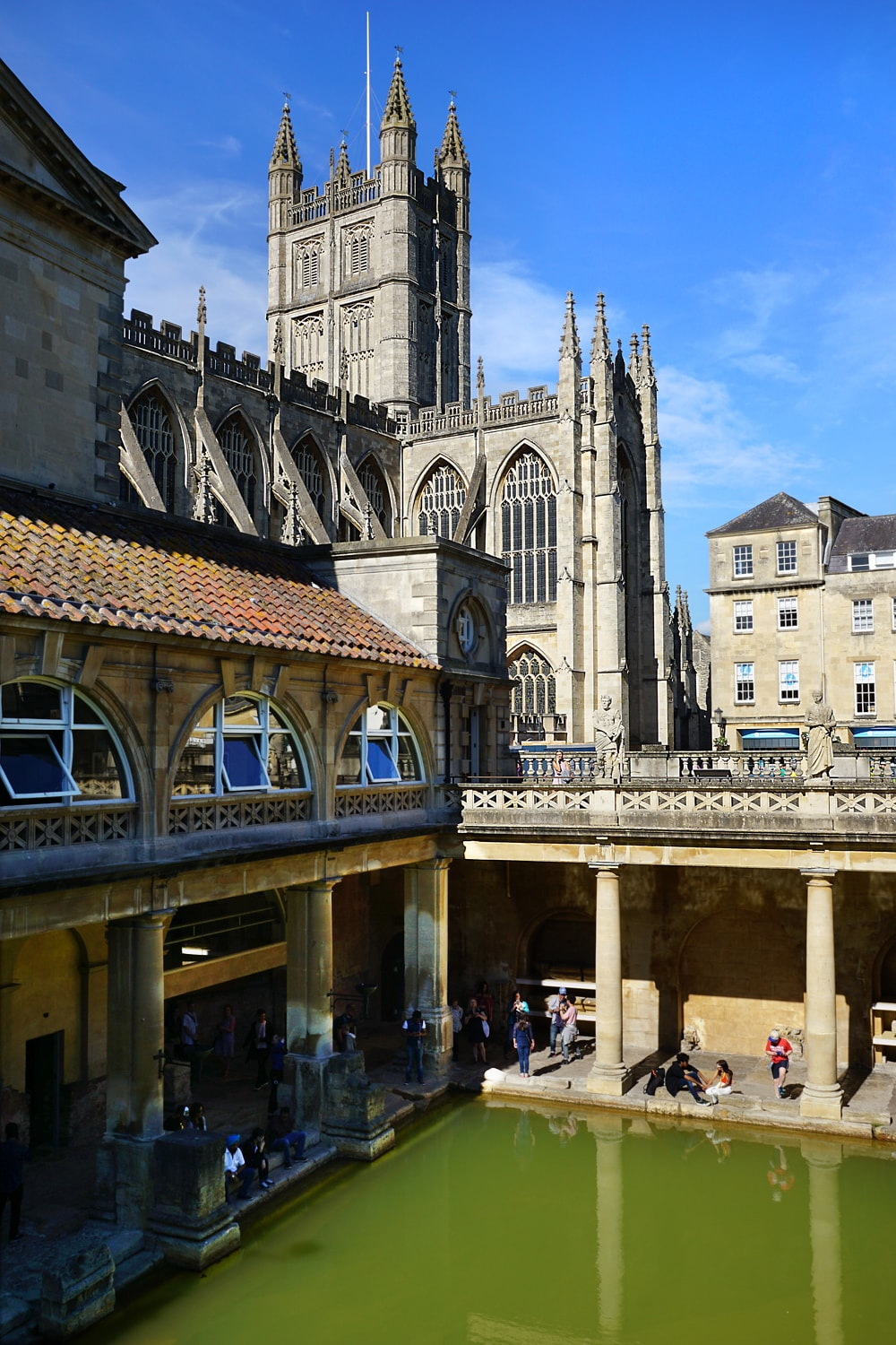 Inside the Roman Bath, Bath