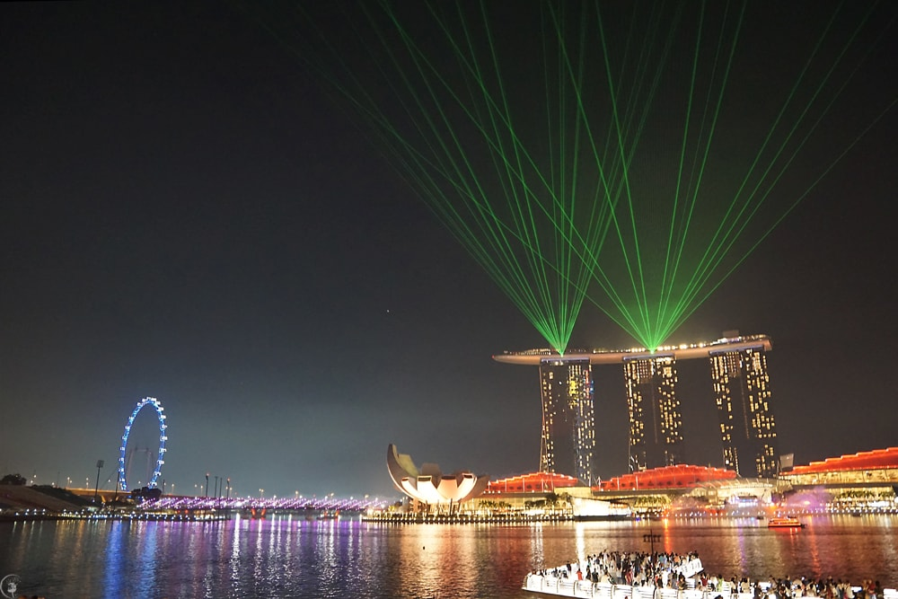Marina Bay, Light Show
