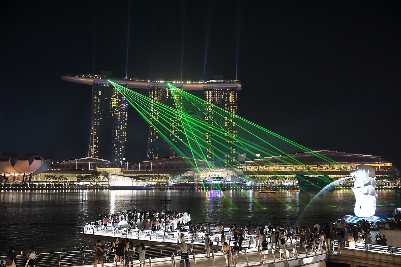 Marina Bay, Singapore, Light Show