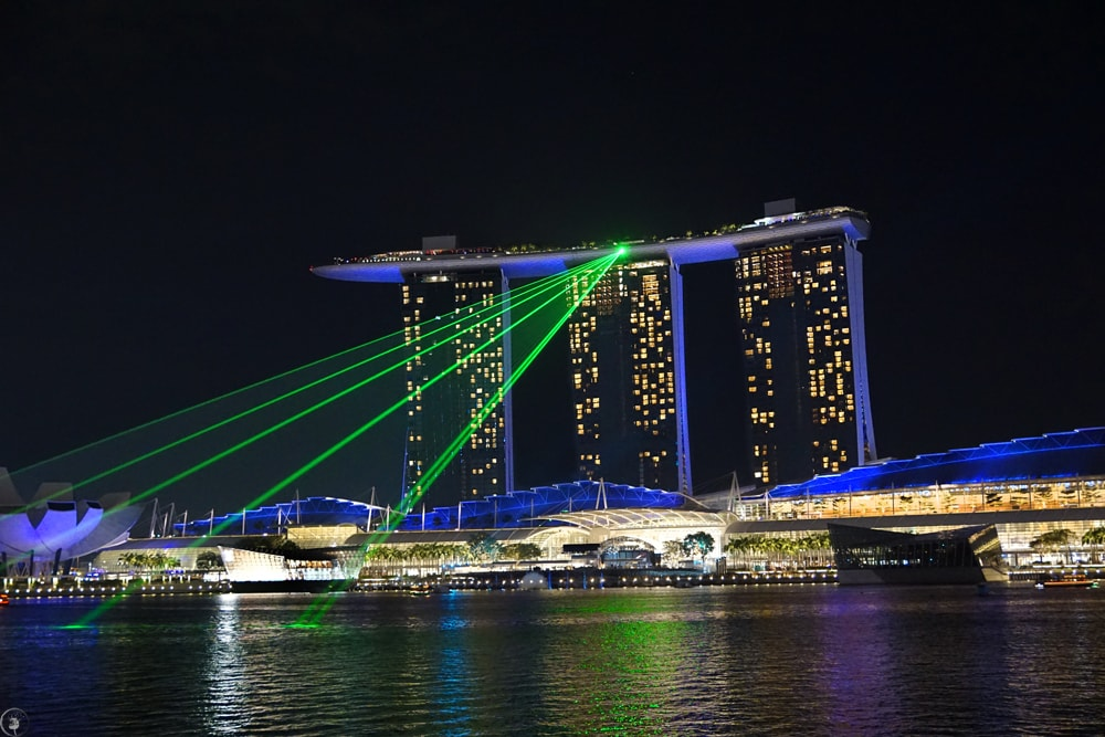 Marina Bay, TheLight Show Singapore