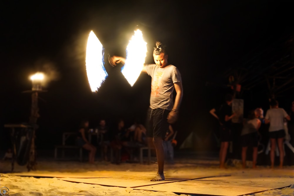Perhentian Islands Fire Show