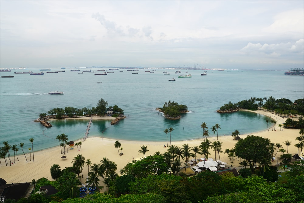 Sentosa Islands from Above, Singapore