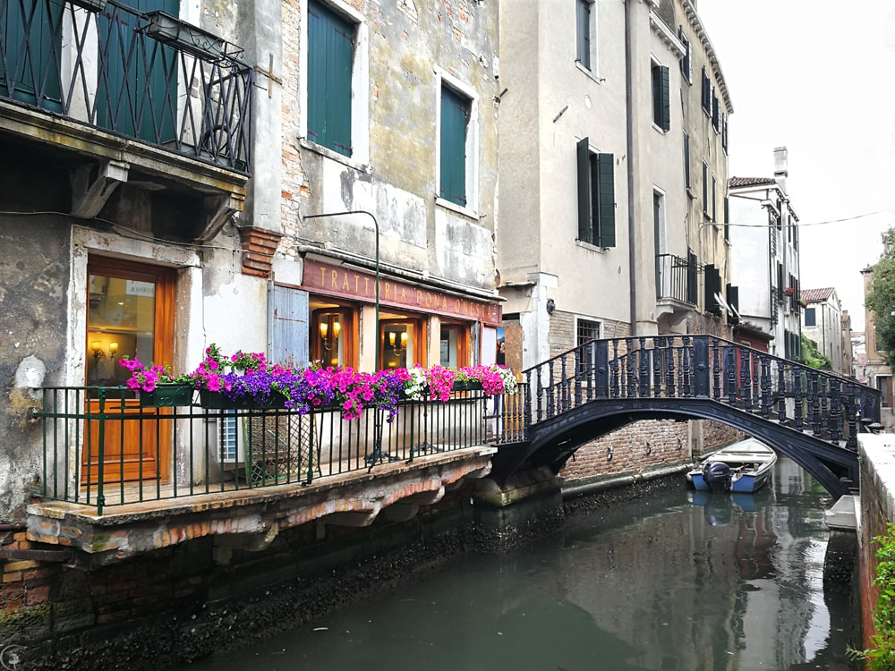 Small Canals in Venice