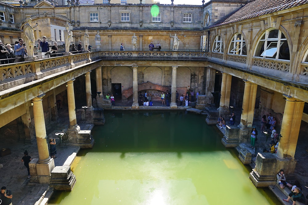 The Great Bath, Roman Bath, Bath