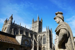 The Romans and the Bath Abbey