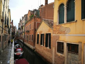 The Small Canals of Venice