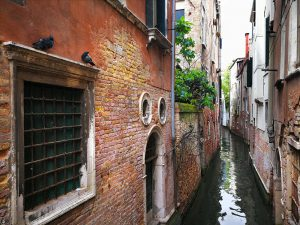 The Small Canals of Venice, Italy