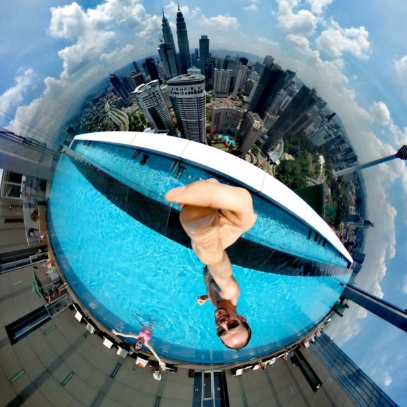 360° Infinity Pool, The Face Suites KL