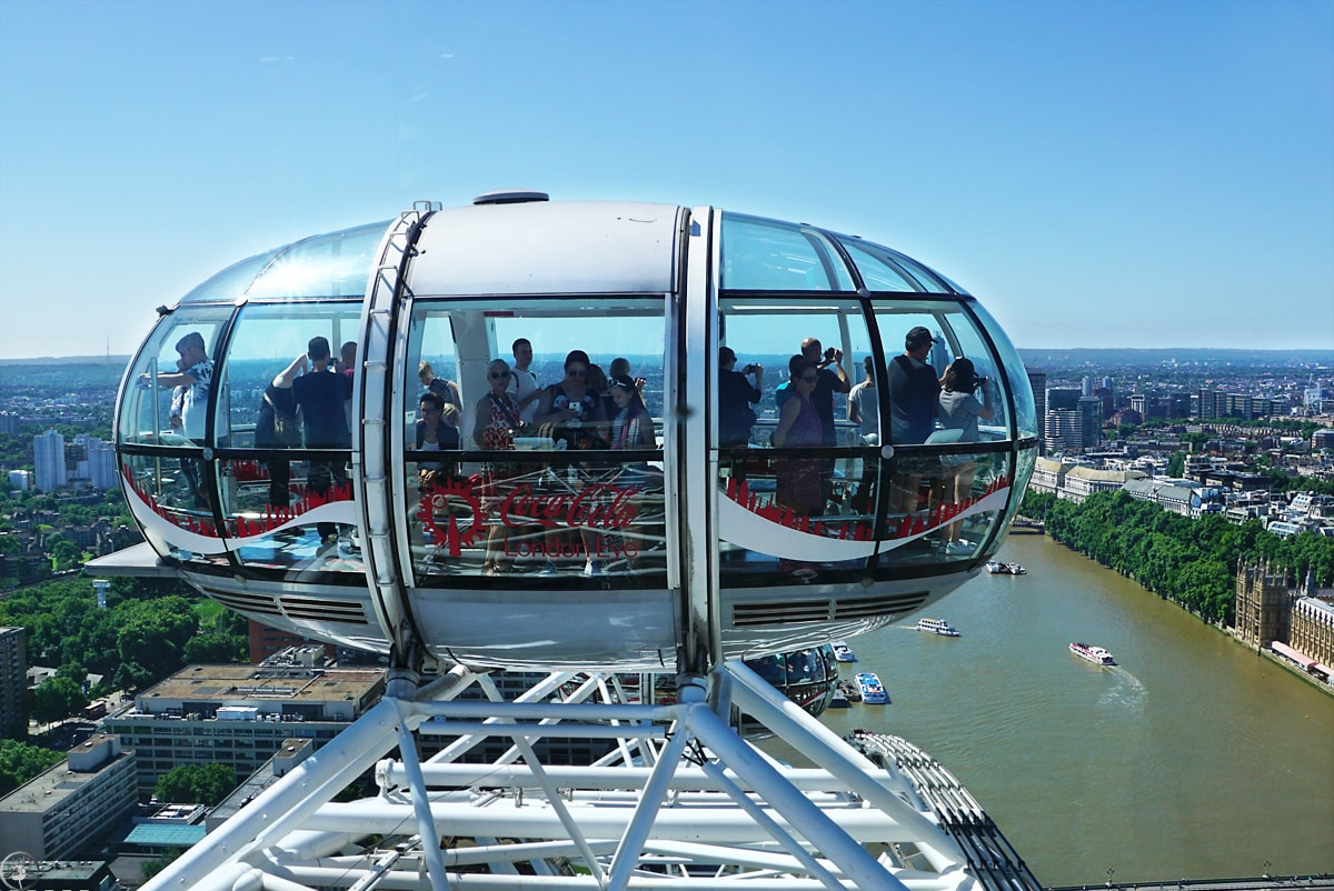 Coca-Cola London Eye, the Capsule