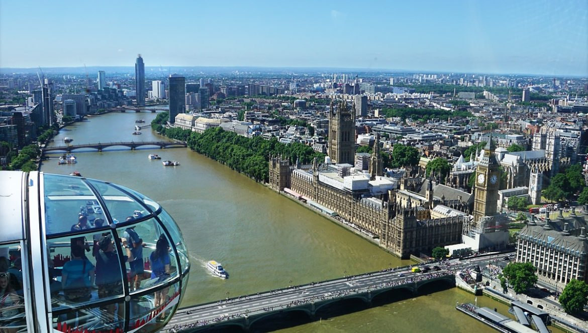 London from above, Coca-Cola Eye View