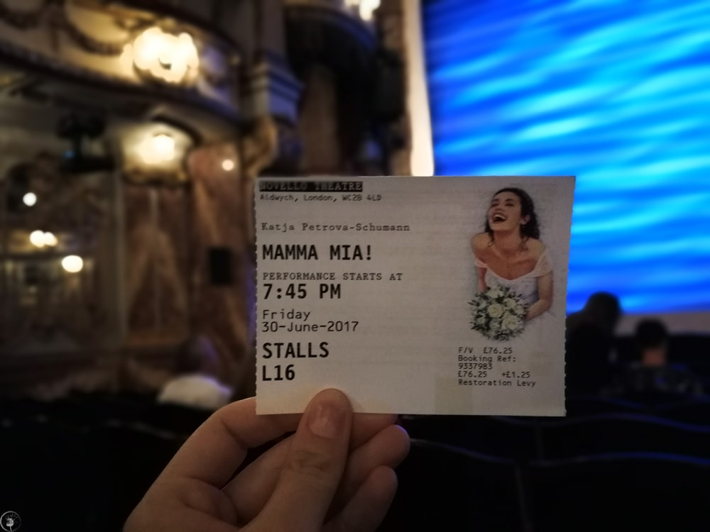 Novello Theatre, Mama Mia Musical