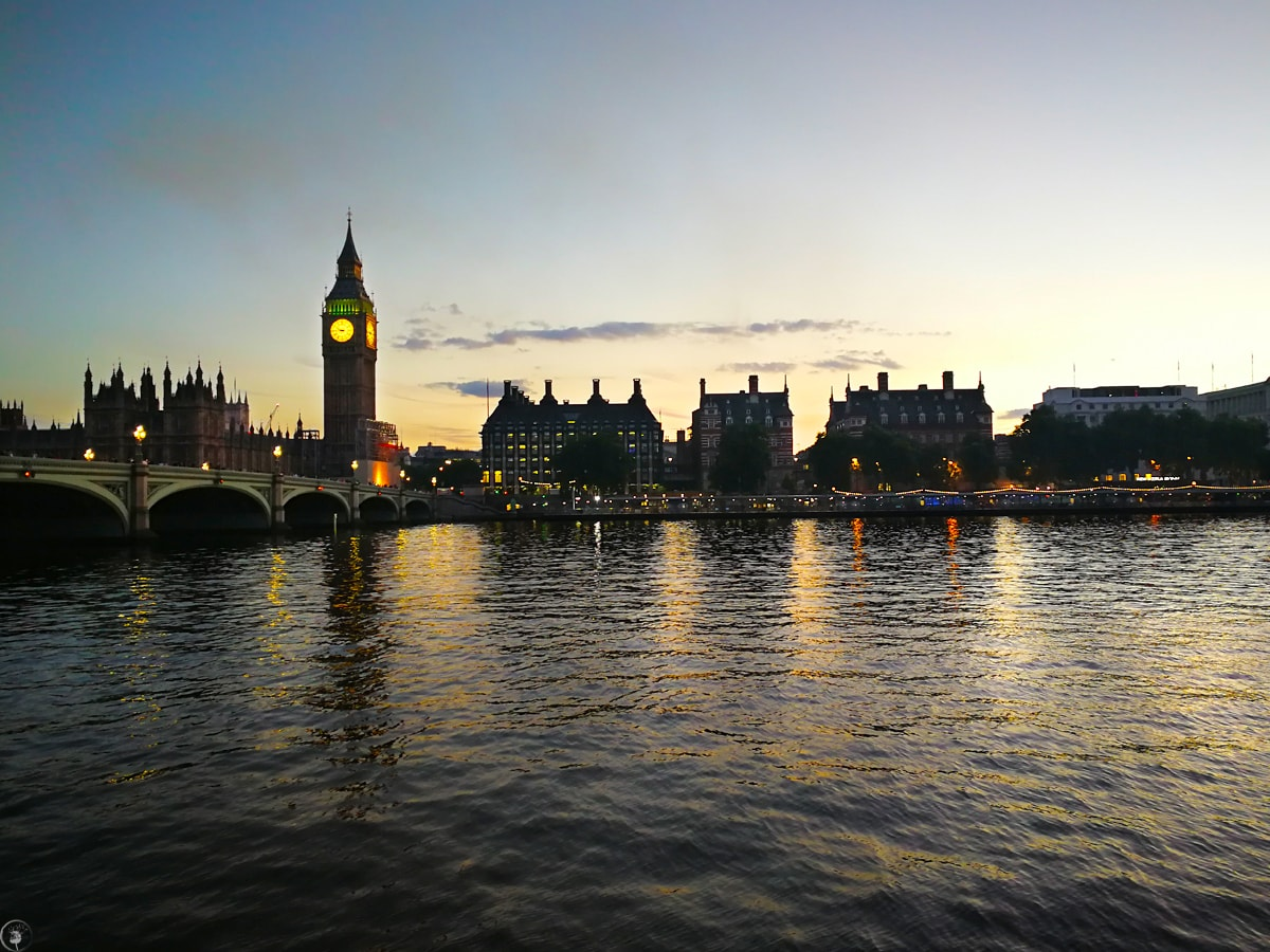 The Big Ben, Sunset
