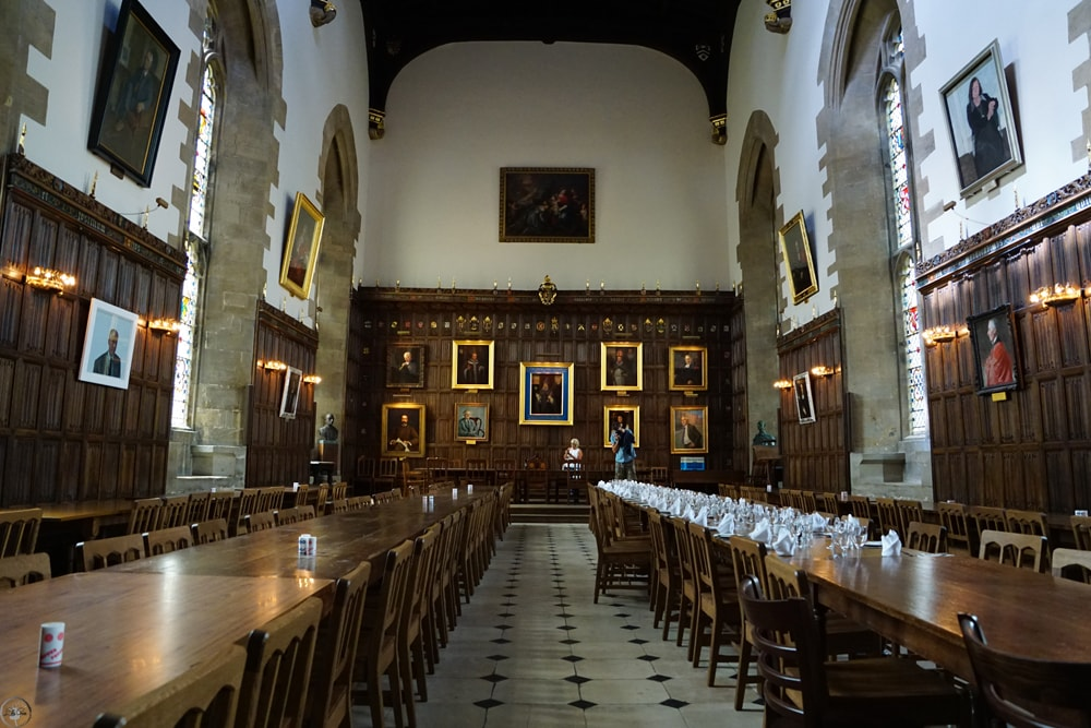 The Long Dining Hall, New College, Oxford