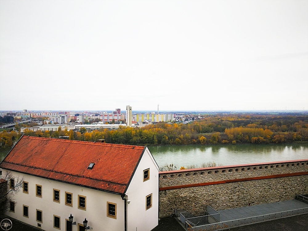 View over Dunabe frm Bratislava Castle
