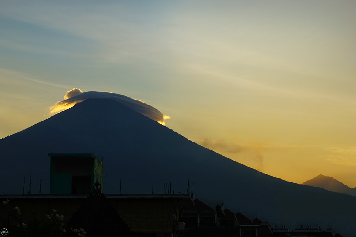 Mount Agung Being active for the first time in 2017
