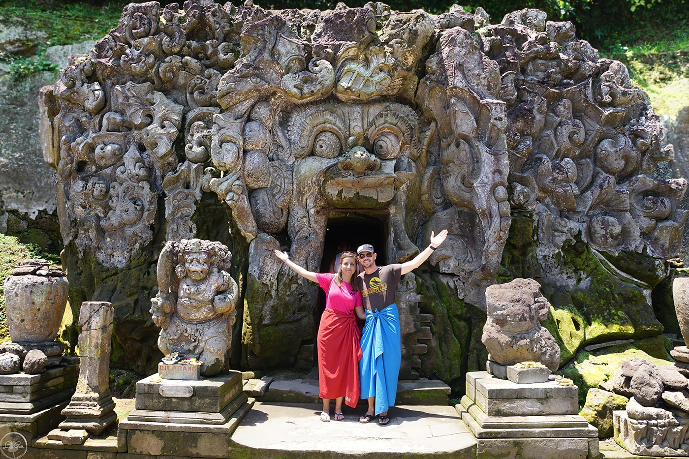 Image result for Elephant Cave or the Goa Gajah