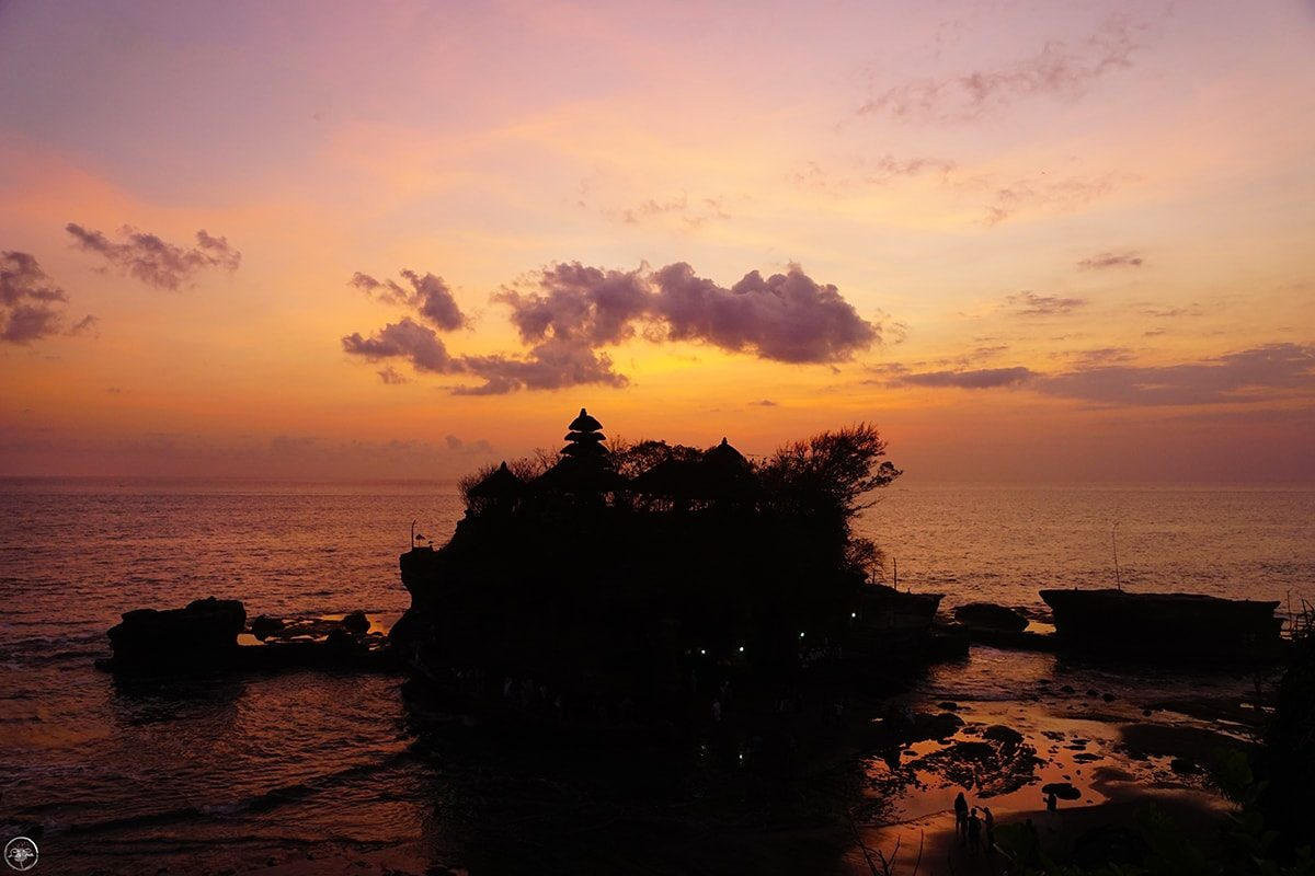 Sunset Perfection ~ Tanah Lot Temple, Bali