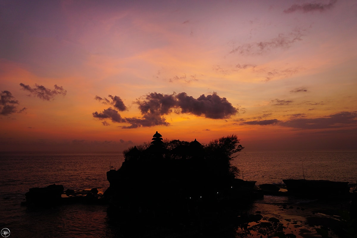 Sunset at Tanah Lot, Bali