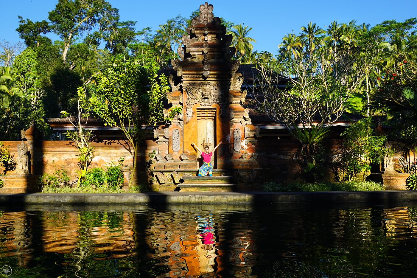 The Koi Pool, Pura Tirta Empul Bali