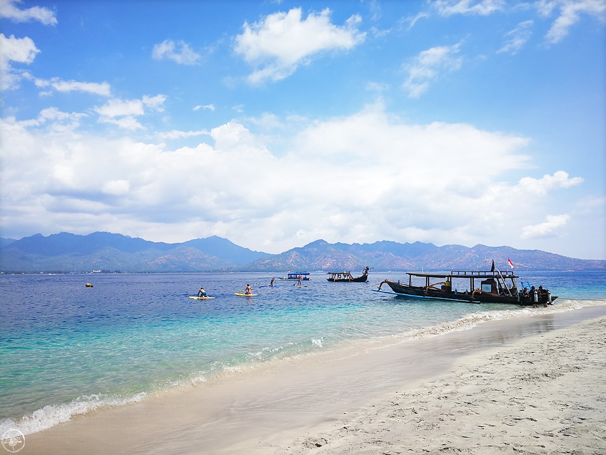 Beach Gili Air, Gili Islands