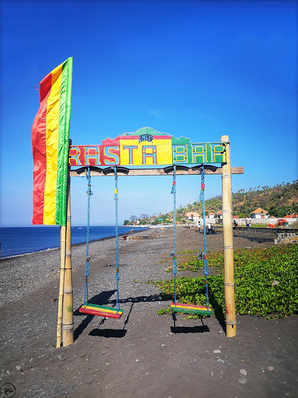 Rasta Bar Amed Beach