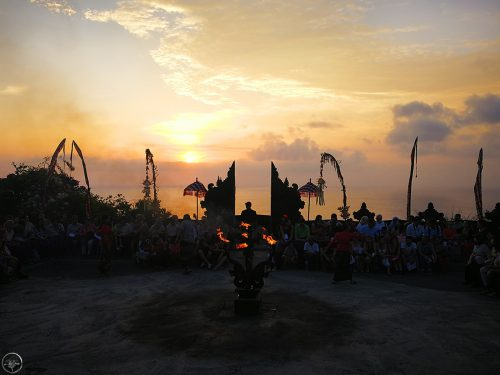 The Kecak Fire Dance in Uluwatu ~ Bali