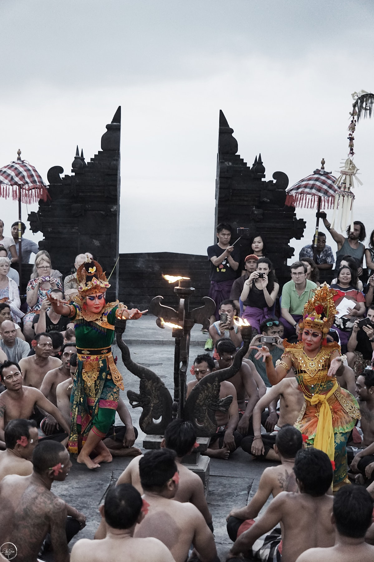 Kecak Fire Dance at Uluwatu Temple, Bali